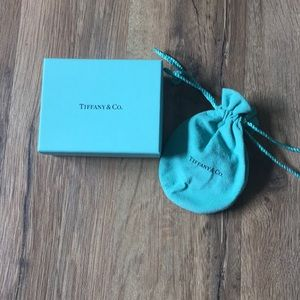 Tiffany & Co. Box and suede pouch